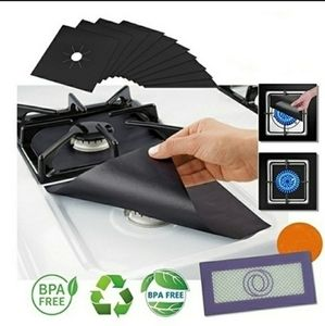 3/$25🔥4 Pcs Premium extra 2mm thick Reusable Gas